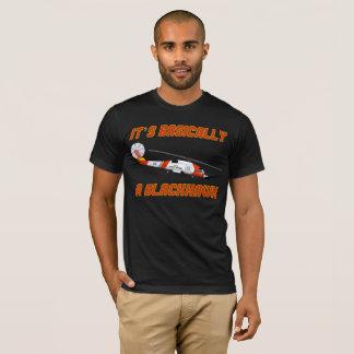 """Küstenwache """"im Allgemeinen ein Blackhawk"""" Jayhawk T-Shirt"""