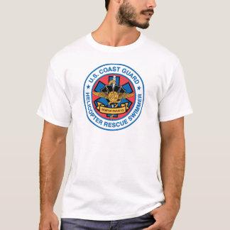 Küstenwache-Rettungs-Schwimmer T-Shirt
