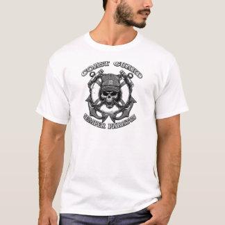 Küstenwache-Schädel T-Shirt