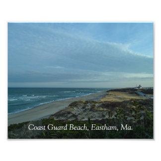 Küstenwache-Strand-Foto-Druck Fotodruck