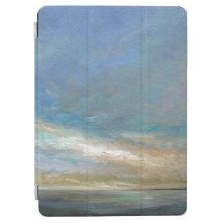 Küstenwolken mit Ozean iPad Air Hülle