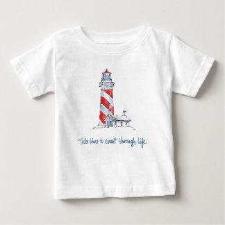 Küstenzitat | nehmen Zeit, durch das Leben die Baby T-shirt