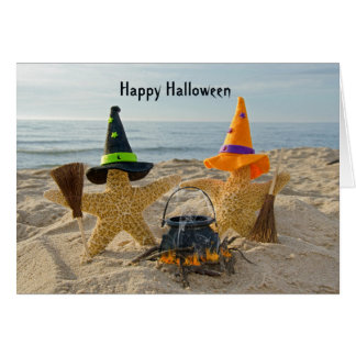 KüsteStarfish Halloween Karte