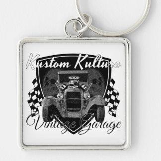 Kustom Kulture Vintage Garage Schlüsselanhänger