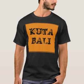 Kuta Bali orange dunkler T - Shirt