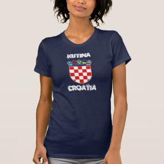 Kutina, Kroatien mit Wappen T-Shirt