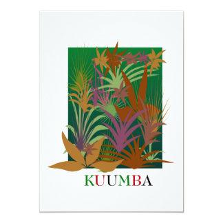 KUUMBA Kwanzaa Feiertags-Party Einladungen