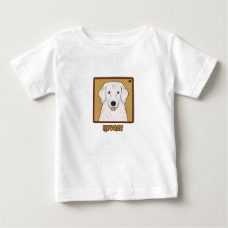 Kuvasz Cartoon Baby T-shirt