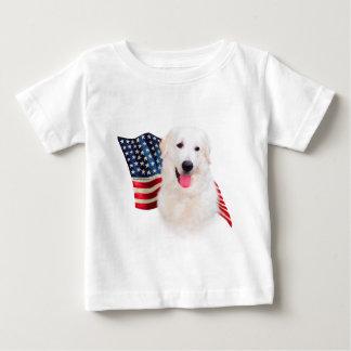 Kuvasz Flagge Baby T-shirt