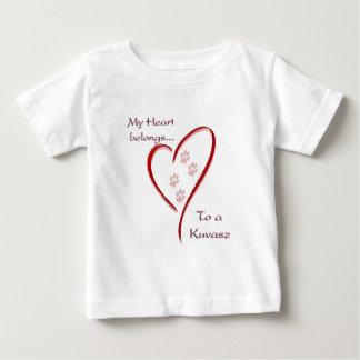 Kuvasz Herz gehört Baby T-shirt