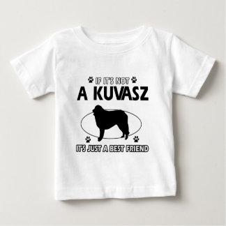 KUVASZ Hundeentwürfe Baby T-shirt