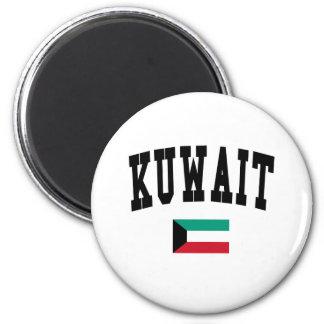 Kuwait-Art Runder Magnet 5,7 Cm