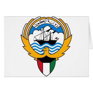 Kuwait-Emblem Karte