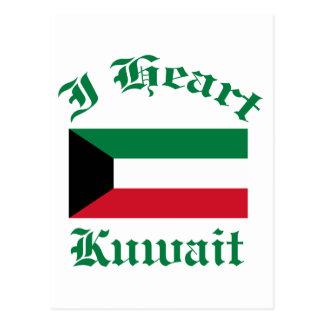 Kuwait-Entwurf Postkarte