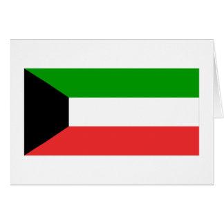 Kuwait-Flagge Karte
