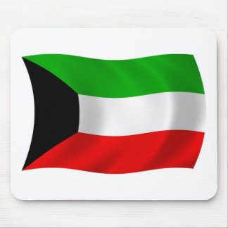 Kuwait-Flagge Mousepad