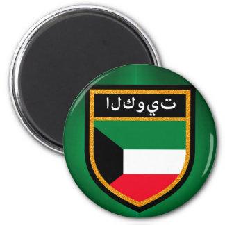 Kuwait-Flagge Runder Magnet 5,1 Cm