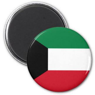 Kuwait-Flagge Runder Magnet 5,7 Cm