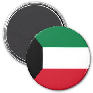 Kuwait-Flagge Runder Magnet 7,6 Cm