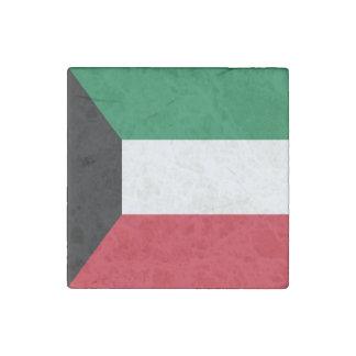 Kuwait-Flagge Stein-Magnet