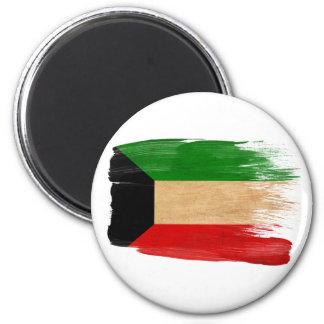 Kuwait-Flaggen-Magneten Runder Magnet 5,7 Cm