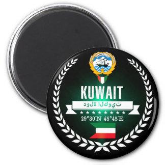 Kuwait Runder Magnet 5,1 Cm