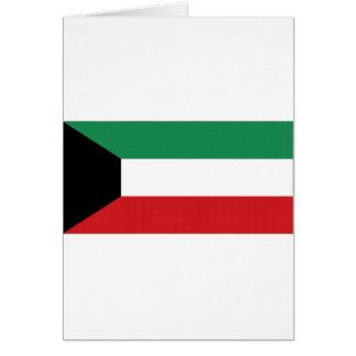 Kuwait-Staatsflagge Karte