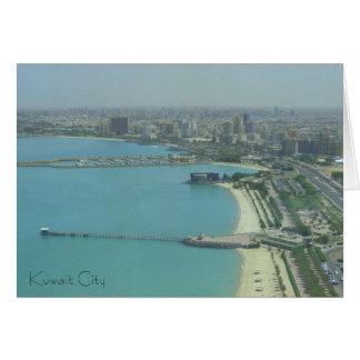 Kuwait-Stadt - birdeye Ansicht Karte