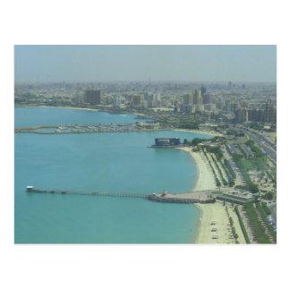 Kuwait-Stadt - Birdeye Ansicht Postkarte