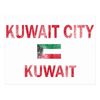 Kuwait-Stadt Kuwait Entwürfe Postkarte