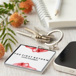 Kvn Tajzea TFR: Die Schlüsselkette der Liebe Einseitiger Quadratischer Acryl Schlüsselanhänger