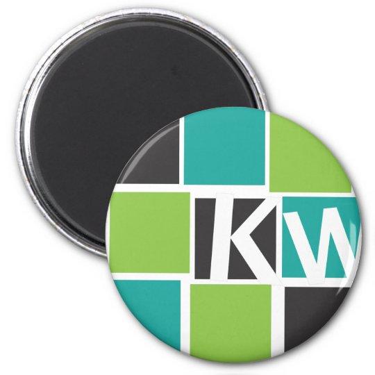 KW Accessoires Runder Magnet 5,7 Cm