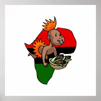 Kwanzaa-Baby Plakatdrucke