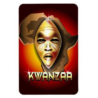 Kwanzaa Flexible Magnete