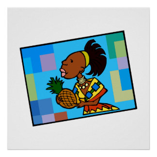Kwanzaa-Frau Plakat