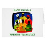 Kwanzaa Grußkarte