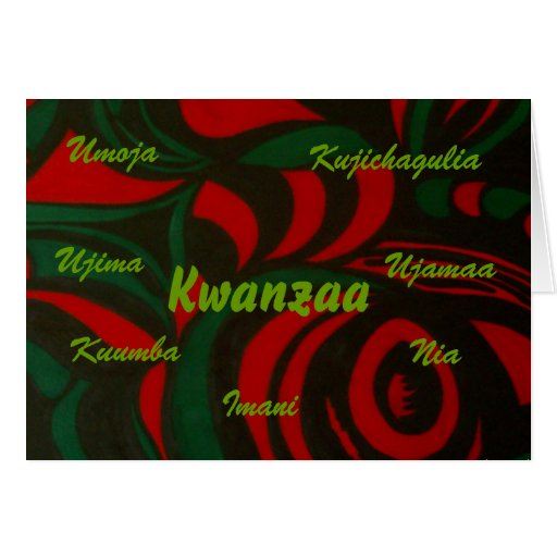 Kwanzaa Grußkarten