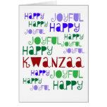 Kwanzaa-Karte Grußkarte