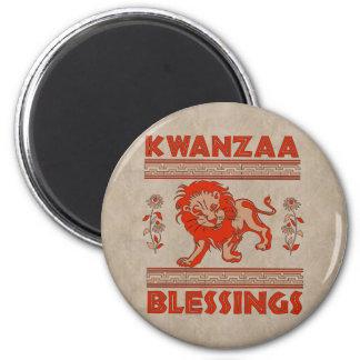 Kwanzaa-Löwe Kühlschrankmagnet