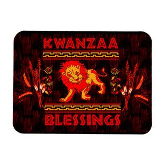 Kwanzaa-Löwe Magnete