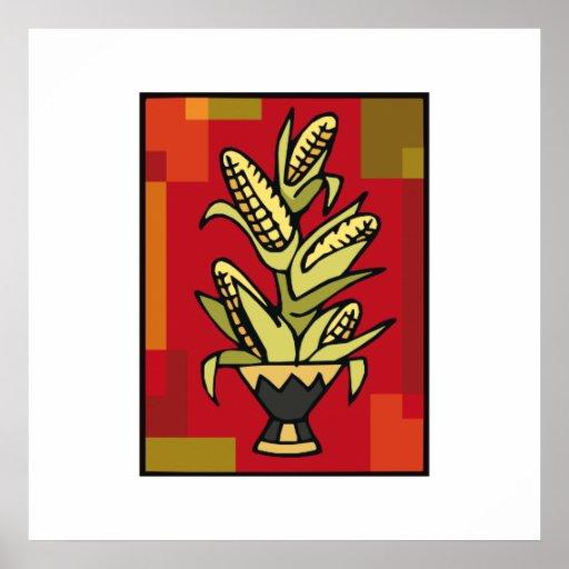 Kwanzaa-Mais Plakatdruck