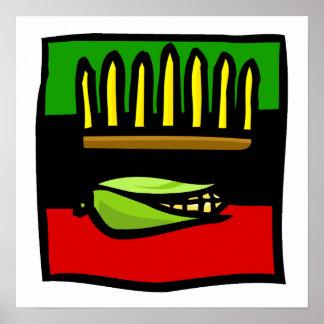 Kwanzaa-Mais Plakatdrucke