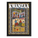 Kwanzaa, Marktstall Grußkarte