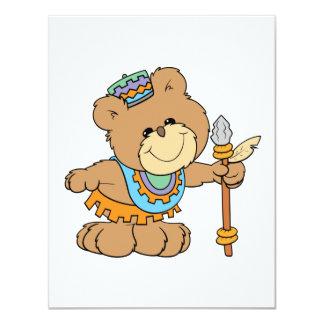 KWANZAA niedlicher Teddybärnentwurf Karte