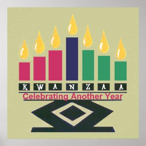 KWANZAA-Plakat-Druck