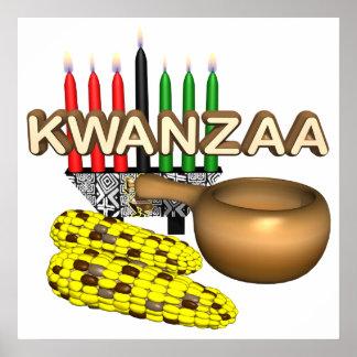 Kwanzaa Plakat