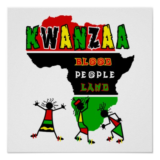 Kwanzaa Posterdruck
