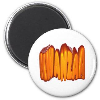 Kwanzaa Runder Magnet 5,1 Cm
