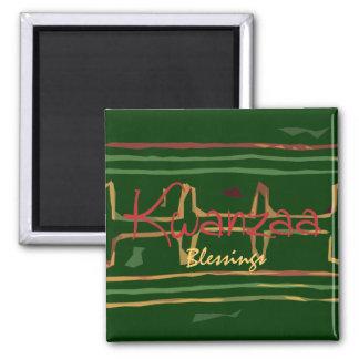 Kwanzaa-Segen-Magnet Kühlschrankmagnete