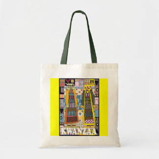 Kwanzaa - Stammes- Zahlen Budget Stoffbeutel